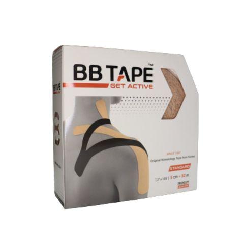 BBtape кинезио тейп 5см х 32 м (бежевый) NEW