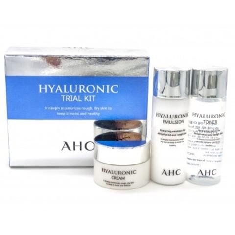 AHC Hyaluronic Trial Kit  тревел-набор для экстраувлажнения кожи лица