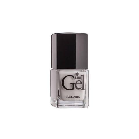 Лак для ногтей с гелевым эффектом Like Gel тон 08 Заснеженные Альпы