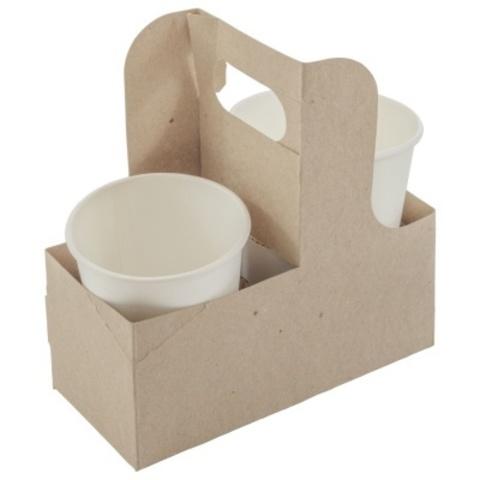 Держатель для 2-ух бумажных стаканов Formacia CupCarrier (коробка 300 шт)