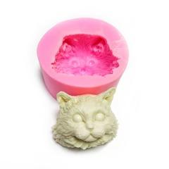 0688 Молд силиконовый Голова кота.
