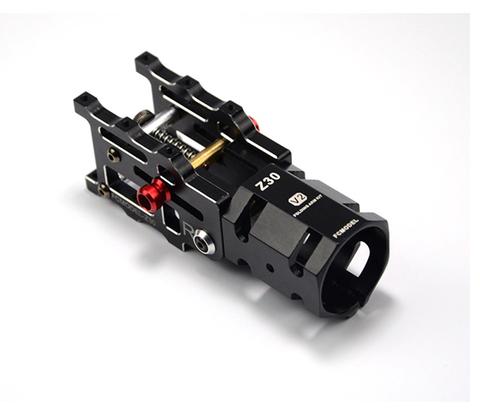 Механизм для складывания лучей 30мм алюминиевый с наклоном чёрный (авто) v2