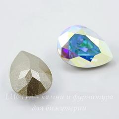 4320 Ювелирные стразы Сваровски Капля Crystal AB (18х13 мм)