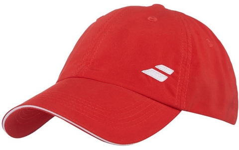 Теннисная кепка Babolat Basic Logo Cap - fiery red