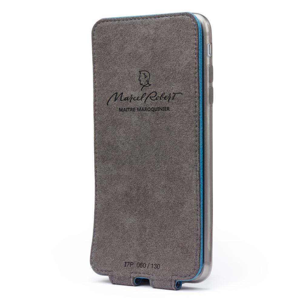 Чехол для iPhone 7 из натуральной кожи теленка, морского цвета
