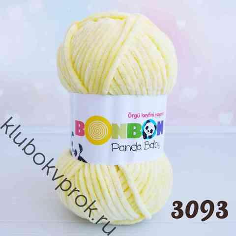 BONBON PANDA BABY 3093, Светлый желтый