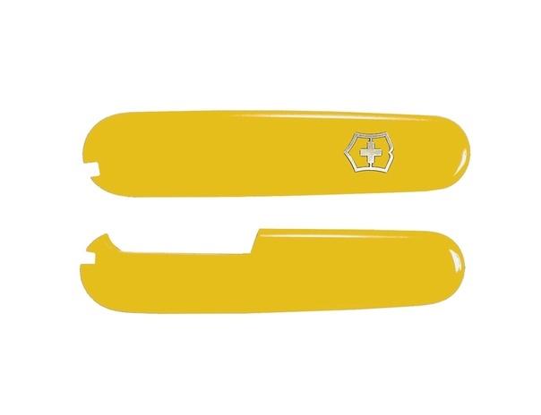 Набор накладок для ножа Victorinox 91 мм., цвет - жёлтый