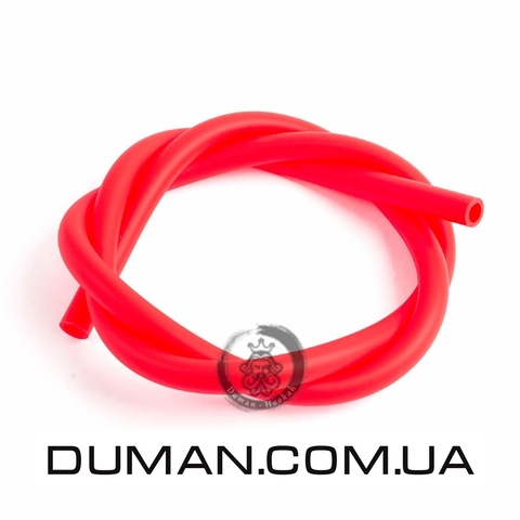 Cиликоновый шланг Soft Touch (Софт Тач) красный для кальяна