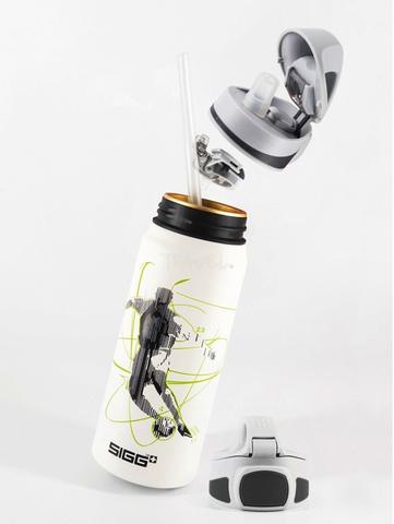Бутылочка детская Sigg Miracle Alu Football (0,6 литра), белая
