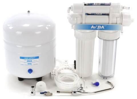 Система водоочистная AquaKit RX-50 S-2 (RO система 2 ступени внизу + 2 ступени вверху)