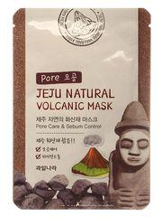 ВЛК Jeju Маска на тканевой основе для лица (очищающая поры) Jeju Natural Volcanic Mask Pore Care & S