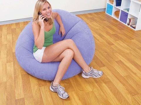 Надувное кресло Intex Beanless Bag Chair: 68569