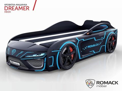 Кровать-машина Romack Dreamer Неон