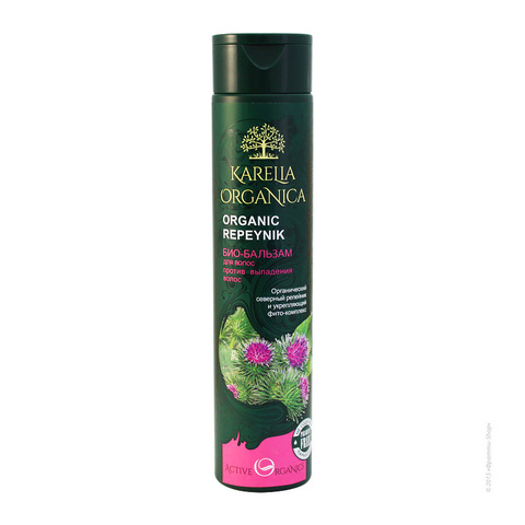 Био-бальзам для волос «Organic Repeynik» против выпадения волос серии «Karelia Organica»