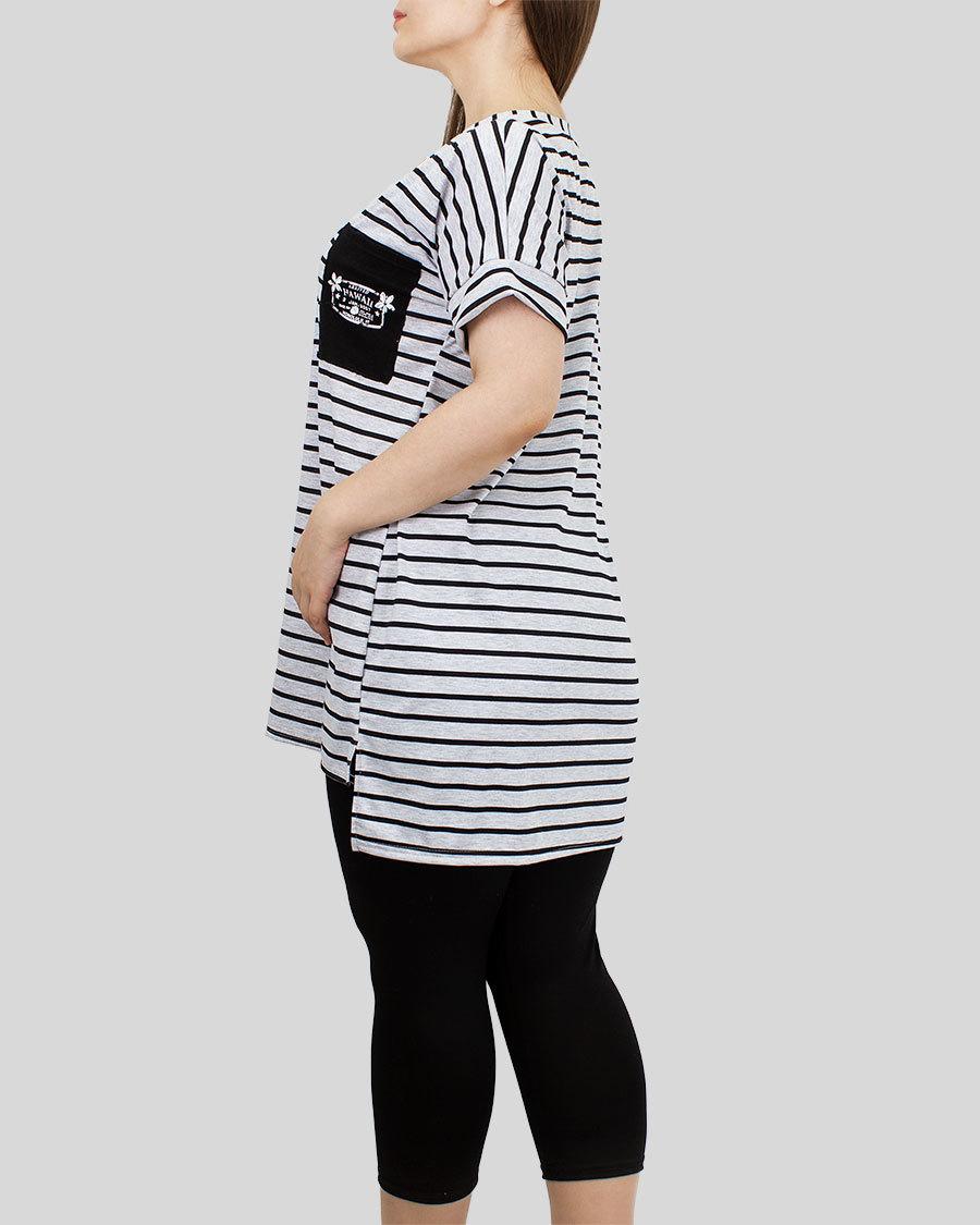 Комплект женский туника с бриджами