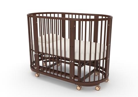 """Кровать детская К-2015-16м """"Бетти"""" (орех)"""