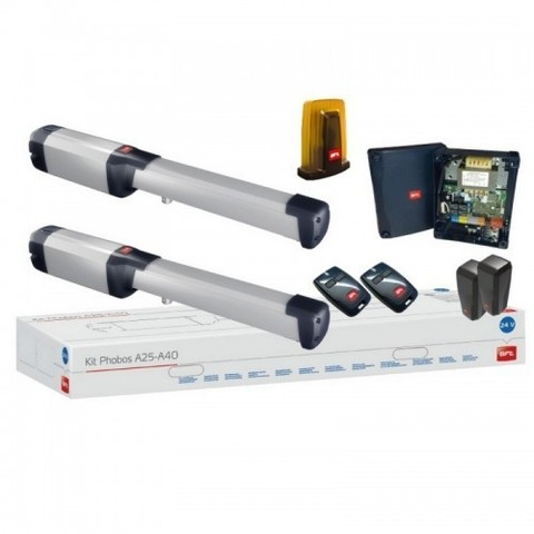 Комплект приводов BFT PHOBOS BT KIT A40 FRA для автоматизации ворот (до 1000 кг и 8 м)