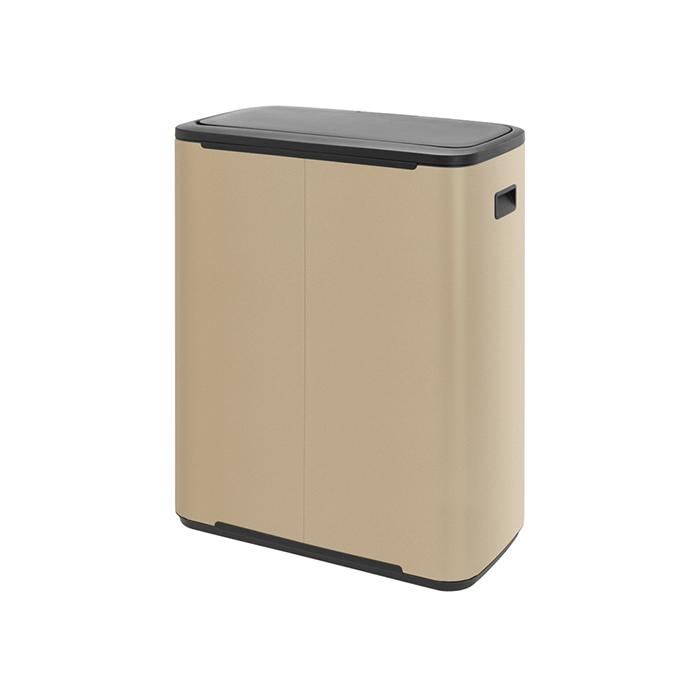 Мусорный бак Touch Bin Bo (60 л), Минерально-золотой, арт. 223105 - фото 1