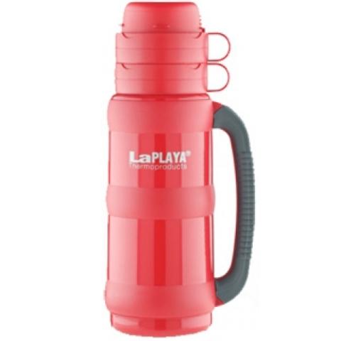 Термос LaPlaya Traditional 35-50 (0,5 литра) со стеклянной колбой, красный