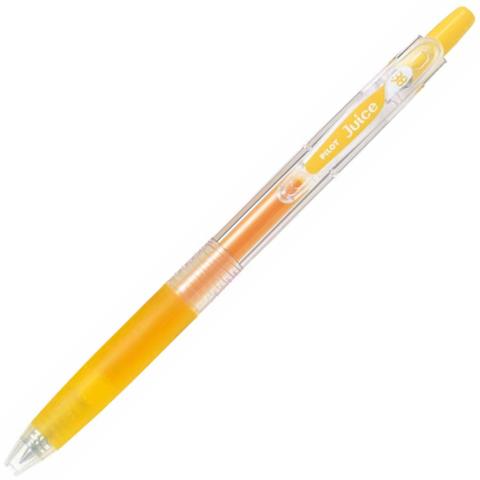 Ручка гелевая Pilot Juice 038 жёлтая