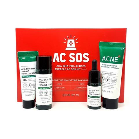 Some By Mi AC SOS AHA-BHA-PHA 30 Days Miracle AC SOS Kit