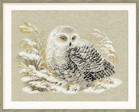 Набор для вышивания крестом «Белая сова» (1241)