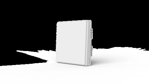 Выключатель Aqara Выключатель настенный (одна клавиша) Aqara Wall Switch (No Neutral, Single Rocker) QBKG04LM