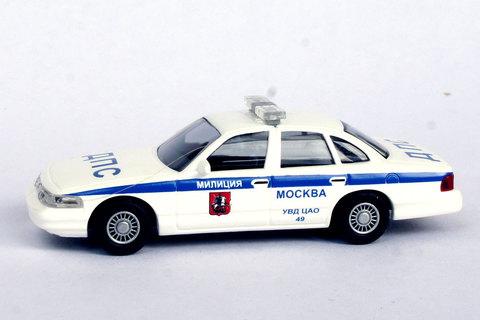 Busch 49049 Автомобиль Ford Crown Victoria ДПС УВД ЦАО 49