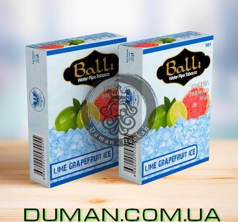 Табак Balli LIME GRAPEFRUIT ICE (Балли Лед Лайм Грейпфрут)