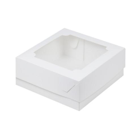 Коробка для зефира,макарон и сладостей 20×20×7см