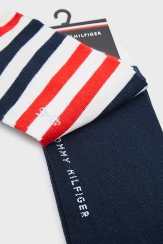 Мужские носки (2 пары) TH MEN DUO STRIPE SNEAKER Tommy Hilfiger