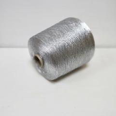 Люрекс 100%, Серебряная сталь, 11000 м в 100 г