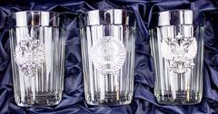 Подарочный набор из 3 граненых стаканов «Неподвластный времени», фото 3