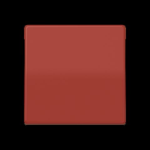 Выключатель одноклавишный проходного типа. 10 A / 250 B ~. Цвет Блестящий красный. JUNG AS. 506U+AS591BFRT