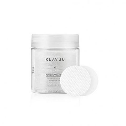 KLAVUU Pure PEARLSATION PH Balancing Quick Cleansing Pad 100шт