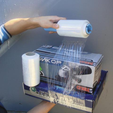 Диспенсер для мини-роллов стрейч-пленки пластиковый 41х165 мм