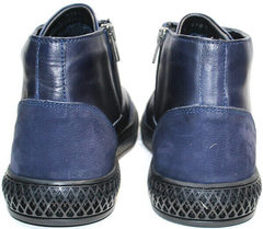 Мужские теплые ботинки демисезонные Luciano Bellini BC2802 L Blue.