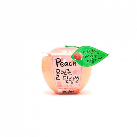 Гель-скатка персиковая все-в-одном с фруктовыми кислотами, 100 гр, Baviphat