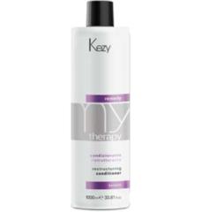 KEZY mytherapy remedy keratin Restructuring conditioner Кондиционер реструктурирующий с кератином 1000  мл.
