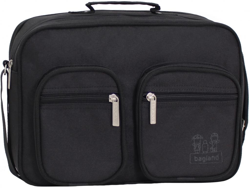 Сумки через плечо Мужская сумка Bagland Mr.Black 11 л. Чёрный (0026466) 7281f75a3496aa1e3643f44cd5773a65.JPG
