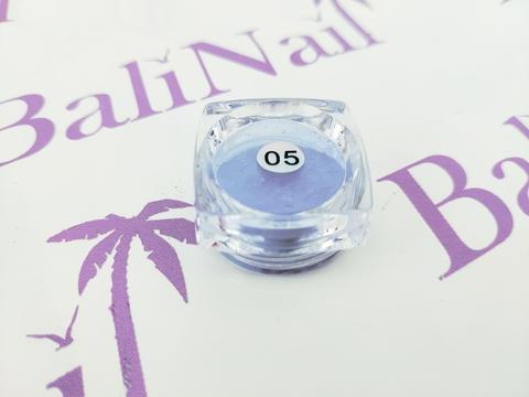 Термо-пигмент для дизайна ногтей (голубой) #05