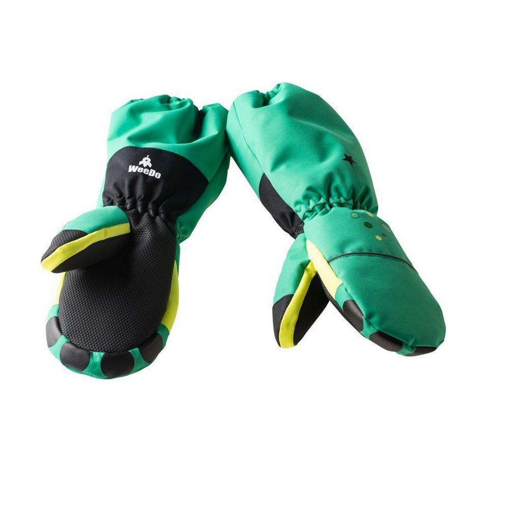 Варежки WeeDo Monster (зеленые)