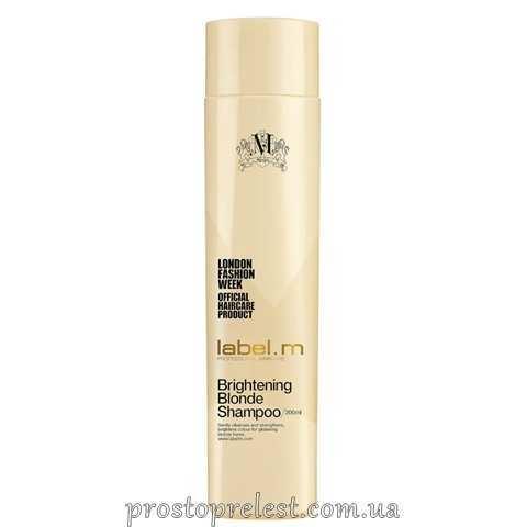 Label.M Brightening Blonde Conditioner - Осветляющий кондиционер для блондинок