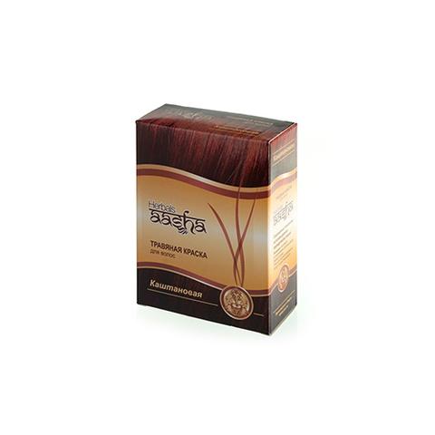 Травяная краска для волос