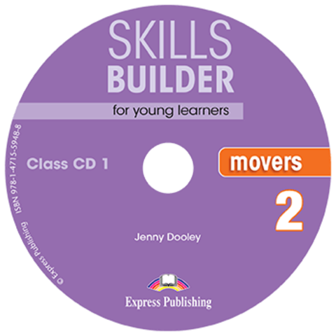 SKILLS BUILDER MOVERS 2 Сlass CD - Комплект аудиодисков к пособию. Ревизия 2017 года