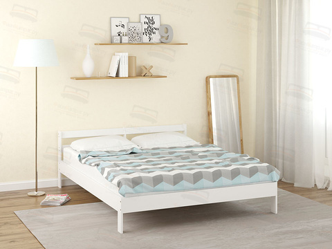 Кровать Райтон Оттава (цвет белая эмаль)