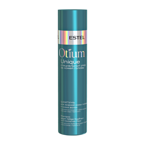 Шампунь для жирной кожи головы и сухих волос OTIUM UNIQUE, 250 мл