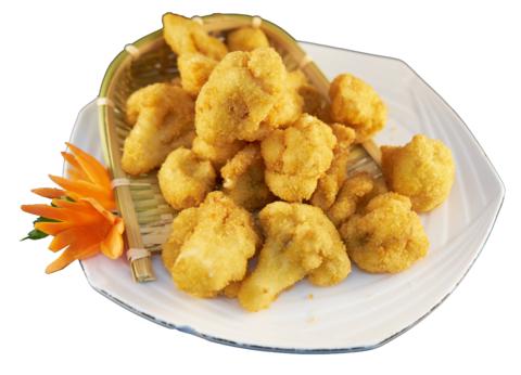 9--11Цветная капуста в сухарях菜花合425р300гр