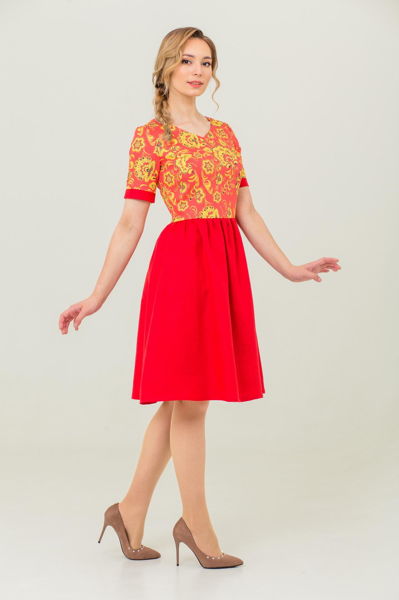 платье Расписное Хохлома купить