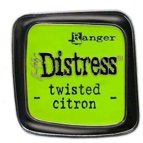 Декоративные значки с эмалью Tim Holtz Distress Enamel Collector Pin Set -зеленый